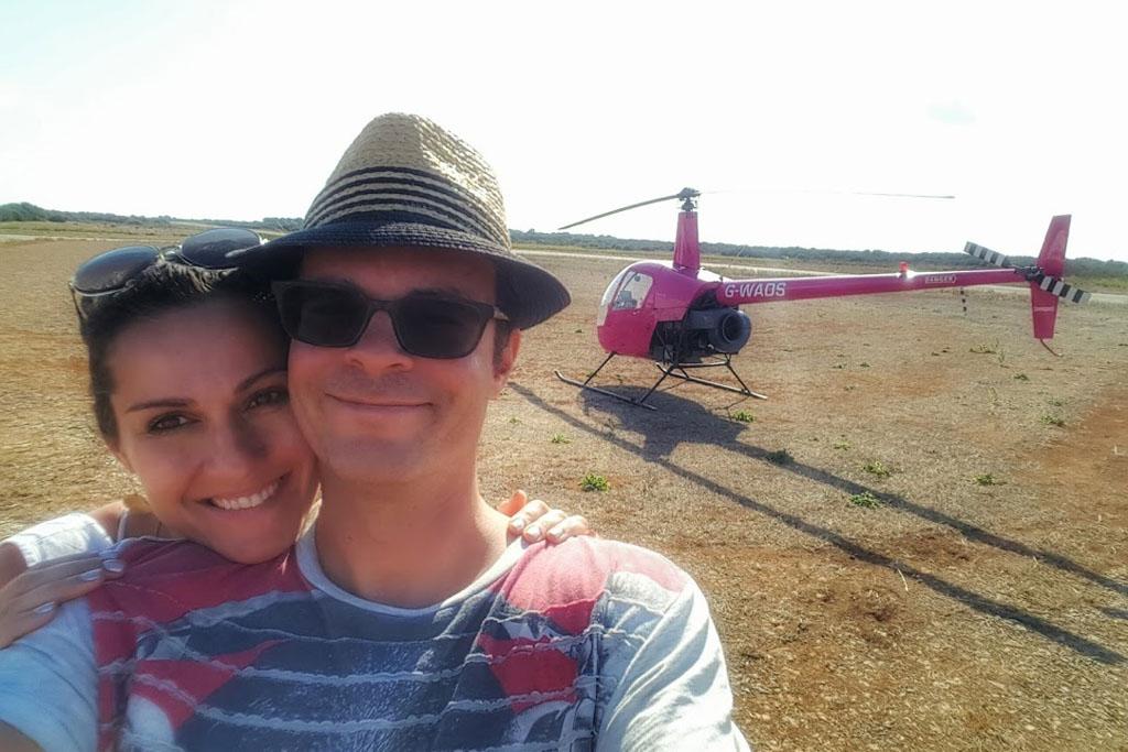 HELICOPTER MALLORCA TEAM 01